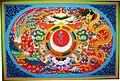 Phyang Monastery - ceiling paiting.jpg