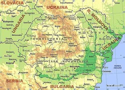 Geography of Romania - Wikiwand