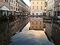 Piazza Cavour di Pontedera allagata.jpg