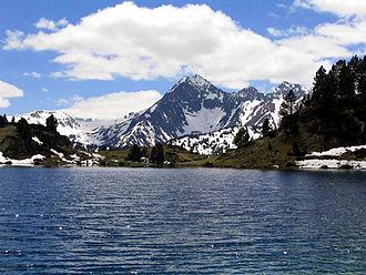 Pyrenees - Pic de Bugatet in the Néouvielle massif