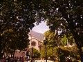 Pico Bolívar desde la plaza Bolívar de Mérida.jpg