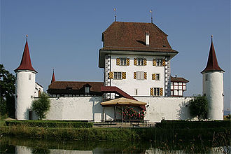 Wyher Castle - Image: Picswiss LU 24 02