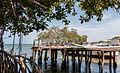 Pier of boats in Isla Margarita.JPG