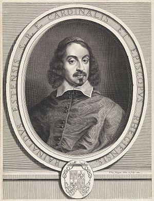 Pieter van Schuppen - Portrait of Cardinal Rinaldo d'Este