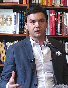 Thomas Piketty in Cambridge (Massachusetts) in april 2014.