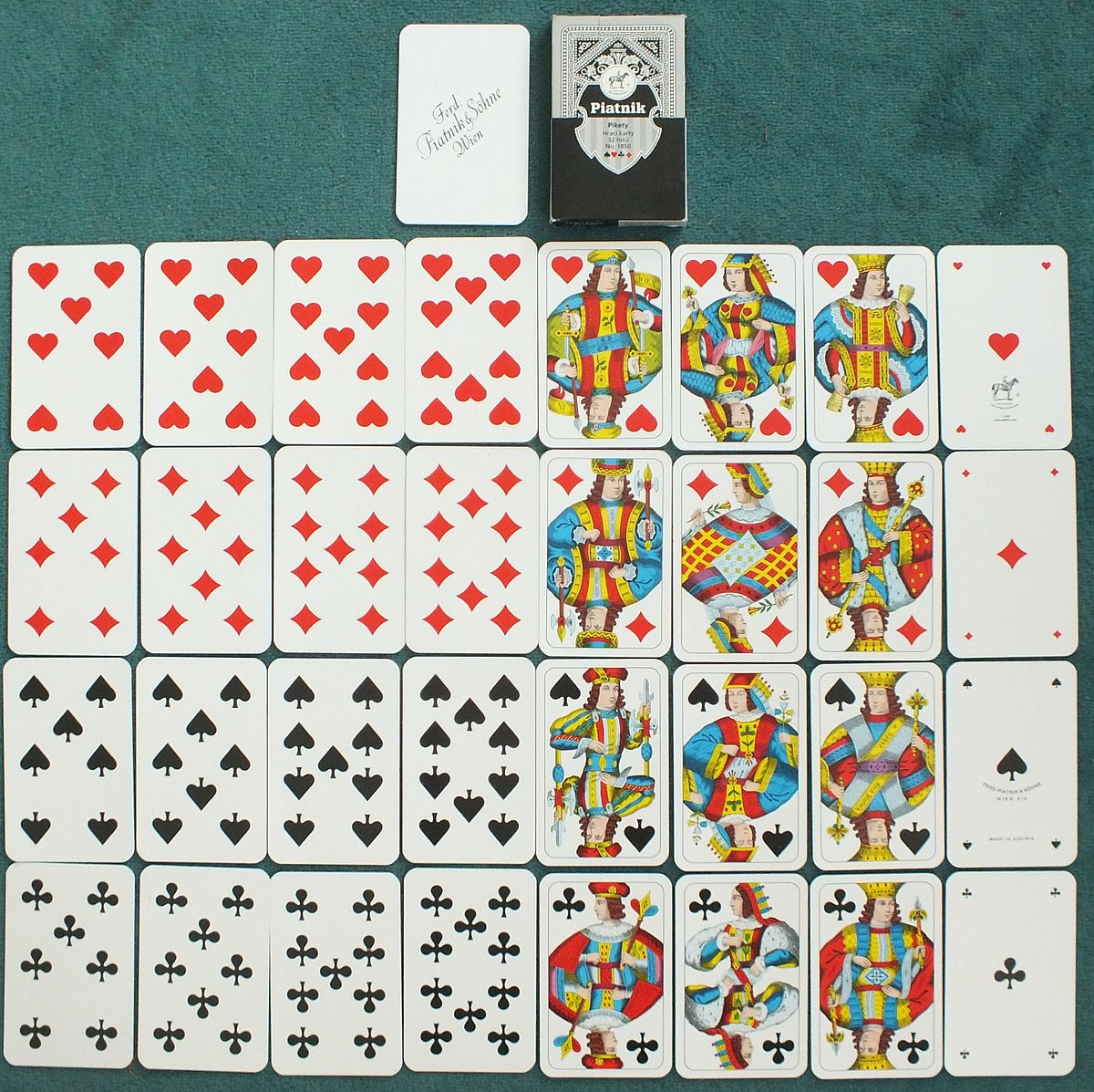 how to create a deck of cards