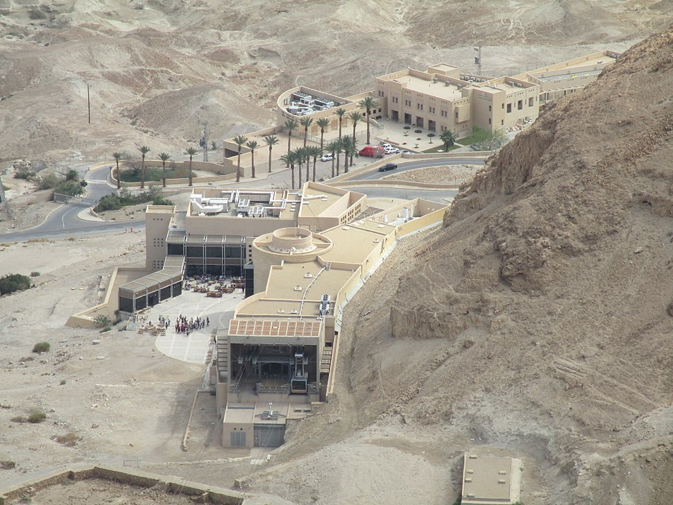 PikiWiki Israel 34743 Lower cable car station in Masada
