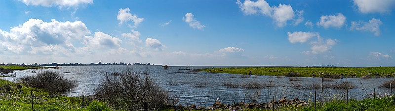 מאגר מים בדרום הגולן