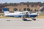 Piper PA-28-181 Archer II (VH-SFA) taxiing at Wagga Wagga Airport.jpg