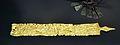 Placa d'or d'un cinturó, tomba 505 de Hallstatt, 600 aC.JPG
