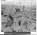 Placer mining-Columbia, Tuolumne County - The Friedenburr Water Wheel for raising the car LCCN2002724181.jpg