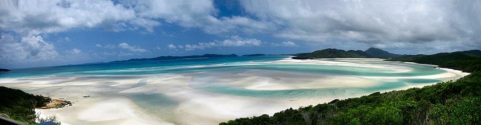 Plage Whitesunday island