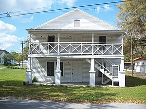 National Register of Historic Places listings in Hillsborough County, Florida - Image: Plant City FL Bing Rmng House 01