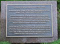 Plaque in St Nicholas graveyard - geograph.org.uk - 1600790.jpg