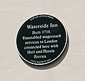 Plaque on the former Waterside Inn, Barton Upon Humber - geograph.org.uk - 888763.jpg