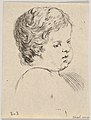 Plate 12- head of a child, from 'The Book for Learning to Draw' (Livre pour apprendre à dessiner) MET DP831141.jpg