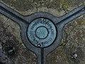 Plate on Top of Trig Pillar on Darnbrook Fell. - geograph.org.uk - 262176.jpg