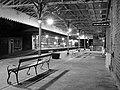 Platform 1 at Hebden Bridge station with platform 2 beyond.jpg