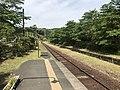 Platform of Kareigawa Station 6.jpg