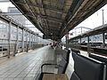 Platform of Kokura Station (Sanyo Shinkansen).jpg