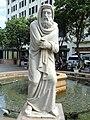 Plaza de Armas fountain - San Juan, Puerto Rico - DSC07108.JPG