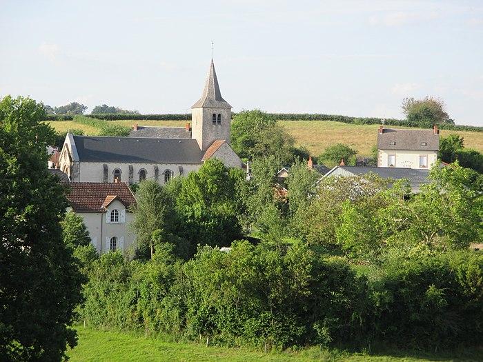My first QI. Poil, Nièvre.