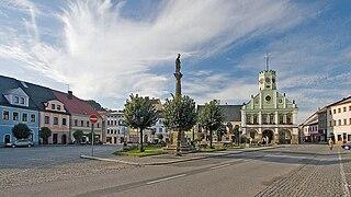 Police nad Metují Town in Hradec Králové, Czech Republic