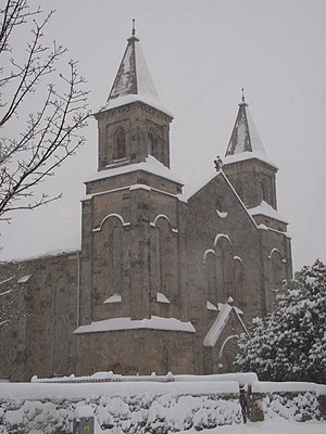 Polmont Old Parish Church in the snow - panoramio.jpg