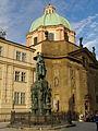 Pomník Karla IV. (Staré Město), Praha 1, Křižovnické nám., Staré Město - celkový pohled.JPG