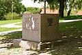 Pomnik - miejsce synagogi w Będzinie - panoramio.jpg