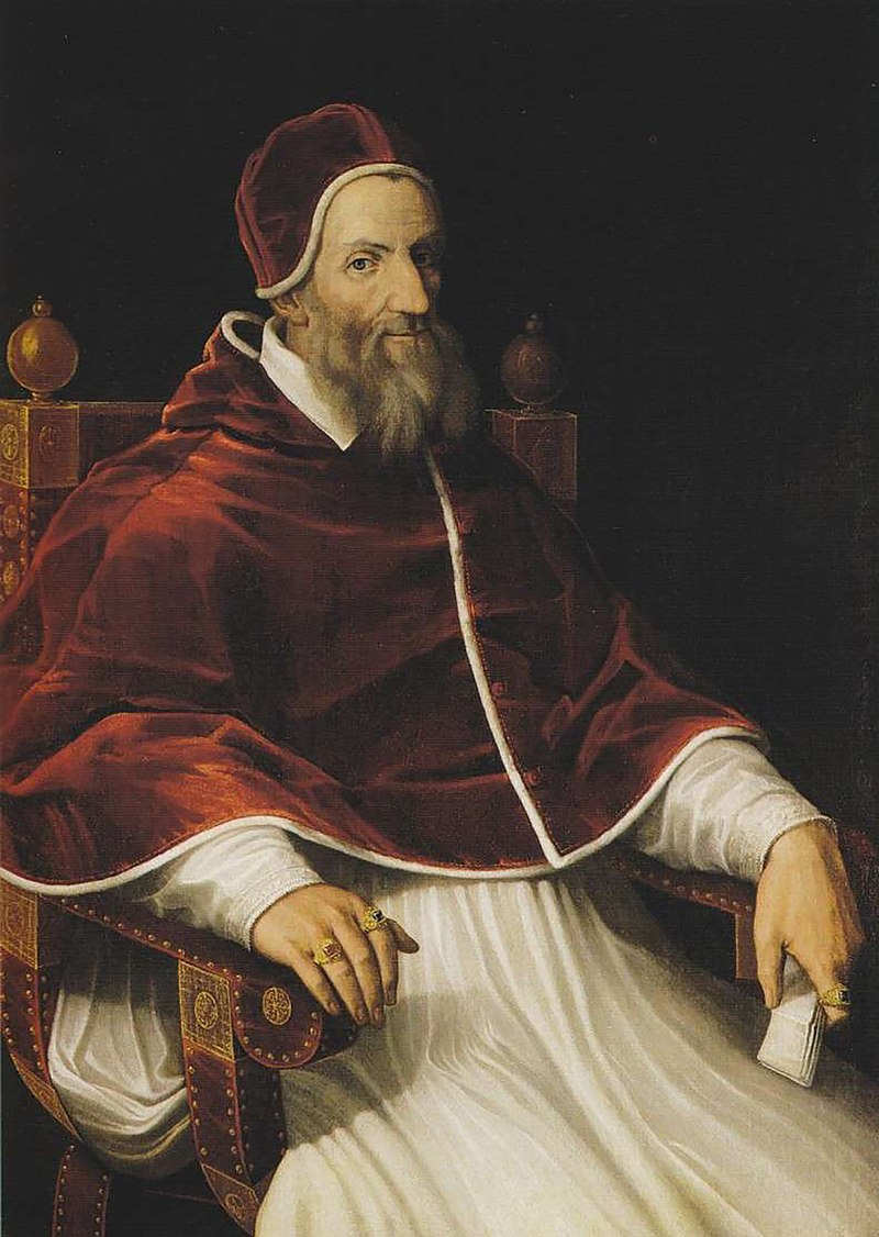 Pope Gregory XIII portrait