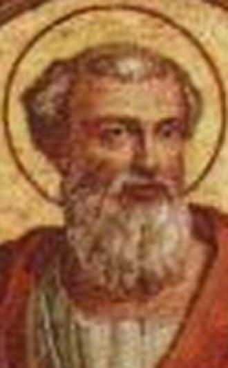 Papal renunciation - Image: Pope Pontian
