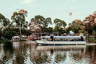 Popeye (boat) - Popeye I on the River Torrens, 27 September 2015