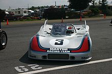 Photo d'une Porsche 908/3 statique.