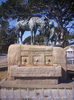 Port Elizabeth - Horse Memorial