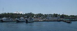 Calapan - Image: Port of Calapan