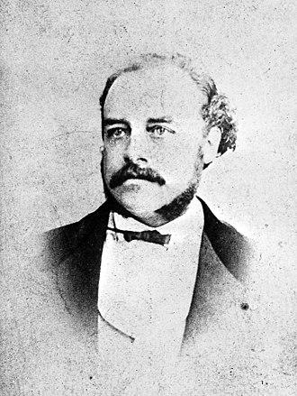 Frederick Crace Calvert - Portrait. Credit: Wellcome Library