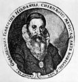 Portrait of Gulielmus Fabricius Hildanus (1560-1634) Wellcome M0010132.jpg