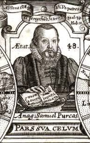 Samuel Purchas - Samuel Purchas at the age of 48.