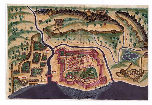 Portuguese Malacca - 1635