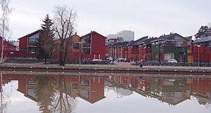 Porvoo - New housing, Porvoo, by architect Tuomas Siitonen