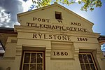 Post and Telegraph Office, 1880, Rylstone, NSW, Australia (close up).jpg
