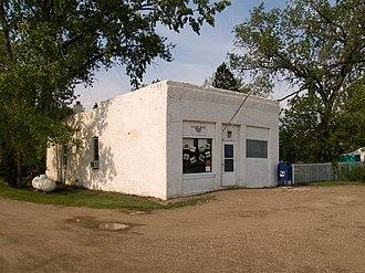 Menoken, North Dakota - Post office in Menoken
