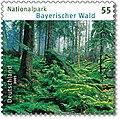 Postwertzeichen DPAG - Bayerischer Wald 2005.jpg