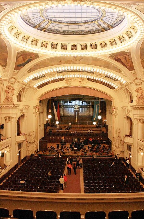 Prague Municipal Smetana Hall