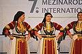 Praha, Staré Město, Ovocný trh, Pražský Jarmark, řecké tanečnice.JPG