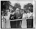 Pres. & Mrs. Coolidge on tennis courts of monument grds., 7-31-24 LOC npcc.11882.jpg