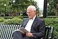 President Maxey gets caught reading (6283021643).jpg