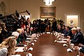 President Trump at a Roundtable about Education Choice (49198474738).jpg