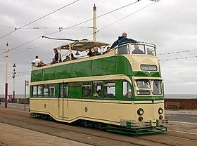 Image illustrative de l'article Tramway de Blackpool